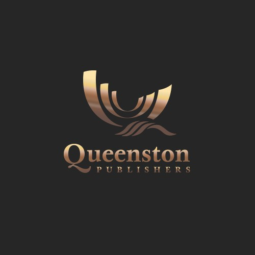 Publisher design with the title 'Queenston Publishers'