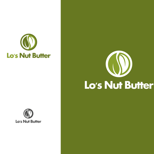Lotion design with the title 'Nut butter '
