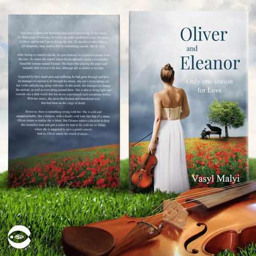 """Music design with the title 'Book cover for """"Oliver and Eleanor"""" by Vasyl Malyi'"""