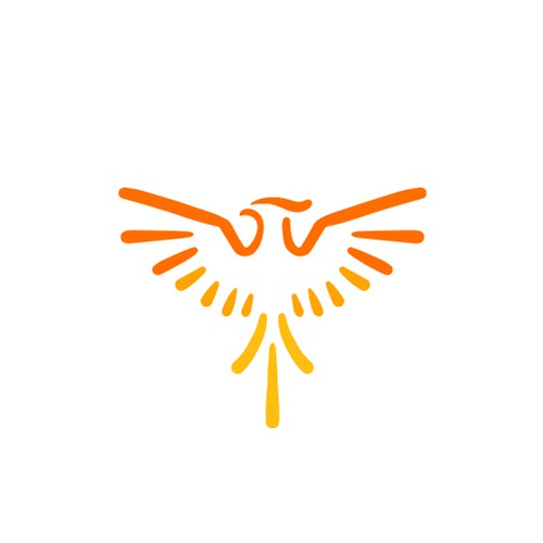 Flame design with the title 'Phoenix'