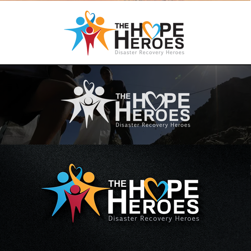 Hope logo with the title 'Create Logo for a Rapidly Growing Nonprofit - The Hope Heroes'