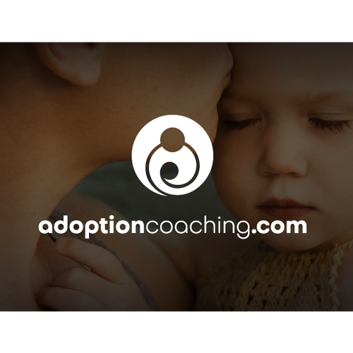 Adoption logo with the title 'Adoption - Logo Design'