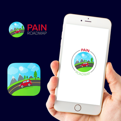 Rocking! logo for Pain ROADMAP to help KIDS in pain