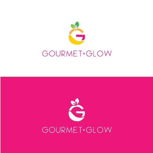 Gourmet brand with the title 'Logo Design for Feminine Healthy Gourmet Products'
