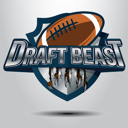 Draft logo with the title 'Logo concept for Draft Beast'