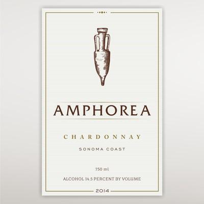 Amphorea wine label