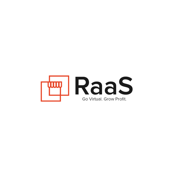 Orange design with the title 'RaaS'