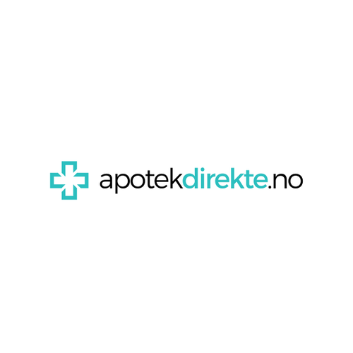 Norway and Norwegian logo with the title 'apotek'