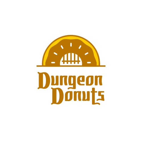 Underground logo with the title 'Dungeon Donuts'