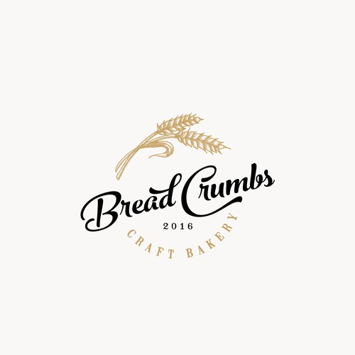 Wheat design with the title 'logo for bakery'
