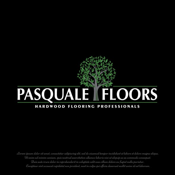 Floor logo with the title 'Pasquale floors'