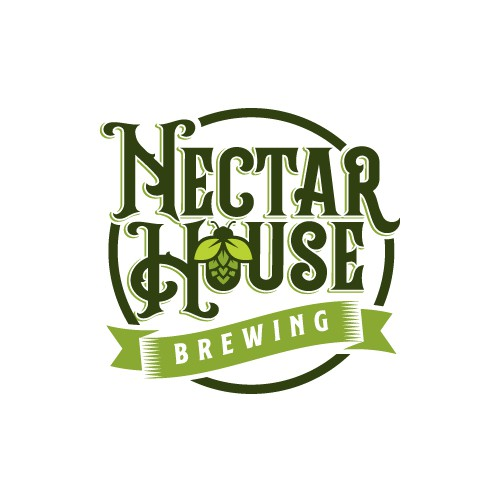 Nectar logo with the title 'Logo for Brewing Company'