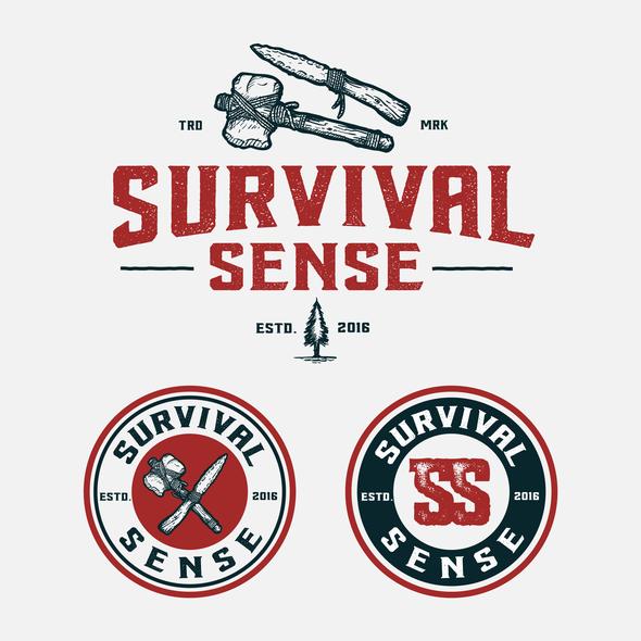 Survival logo with the title 'Survival Sense'