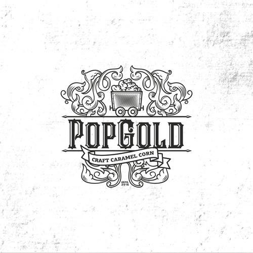 Old-school brand with the title 'PopGold'
