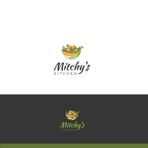 Keto logo with the title 'Logo for keto food kitchen '