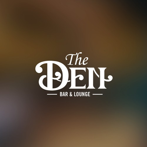 Upscale logo with the title 'The Den'