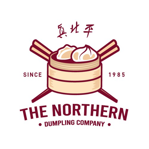 Food brand with the title 'THE NORTHERN DUMPLING COMPANY'