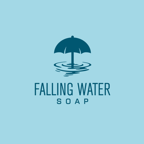 Water logo with the title 'Sophisticated, Vintage, Modern Logo for a Logo for a Bath and Body Company'