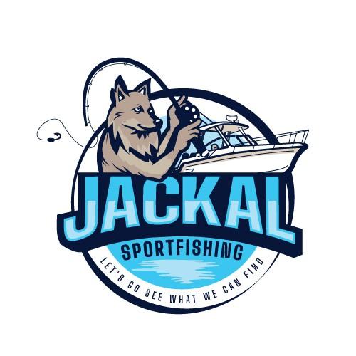 Bait logo with the title 'Sportfishing logo'