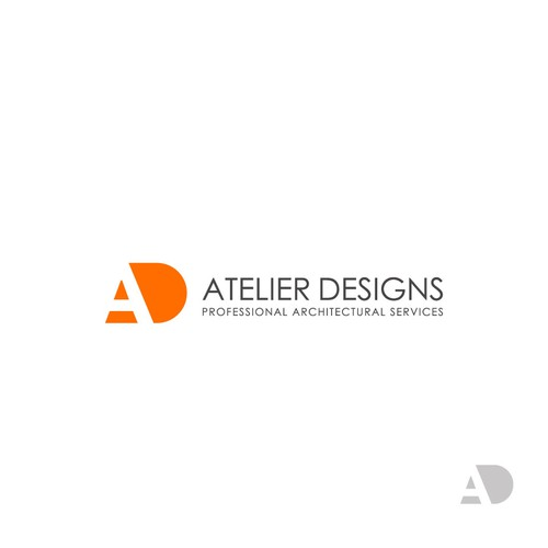 Architect brand with the title 'A+D Logo Design Symbol'
