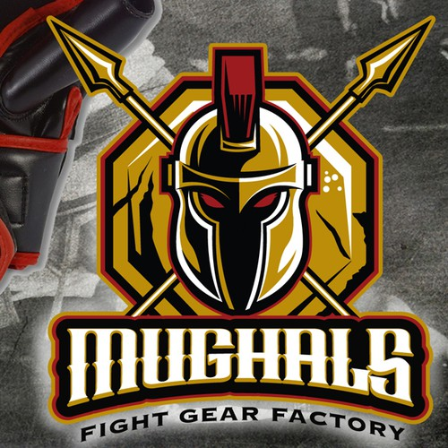 Spartan logo with the title 'New logo wanted for MUGHALS'