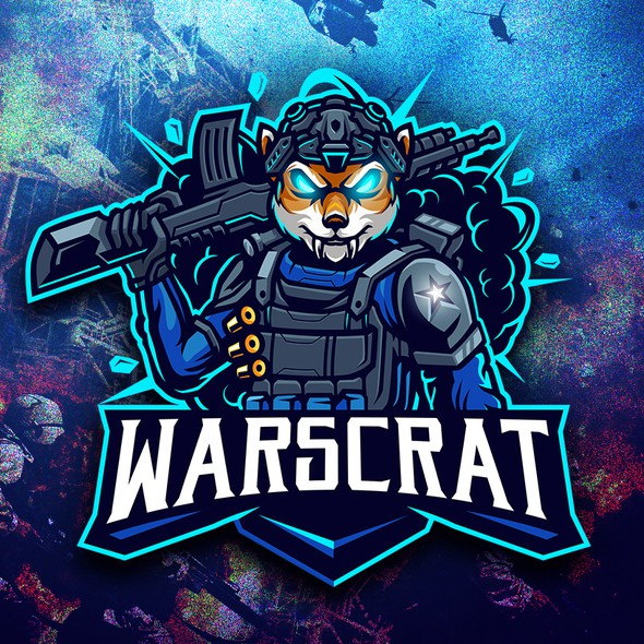 Twitch design with the title 'Warscrat'