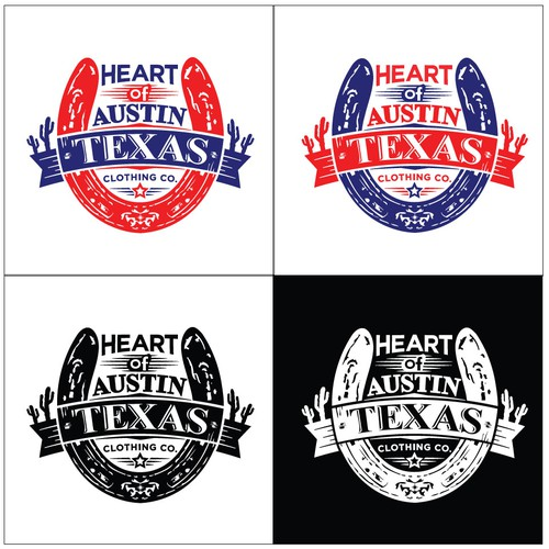 Horseshoe logo with the title 'Heart of Texas'