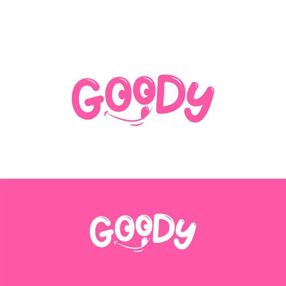 Candy brand with the title 'Logo Goody'