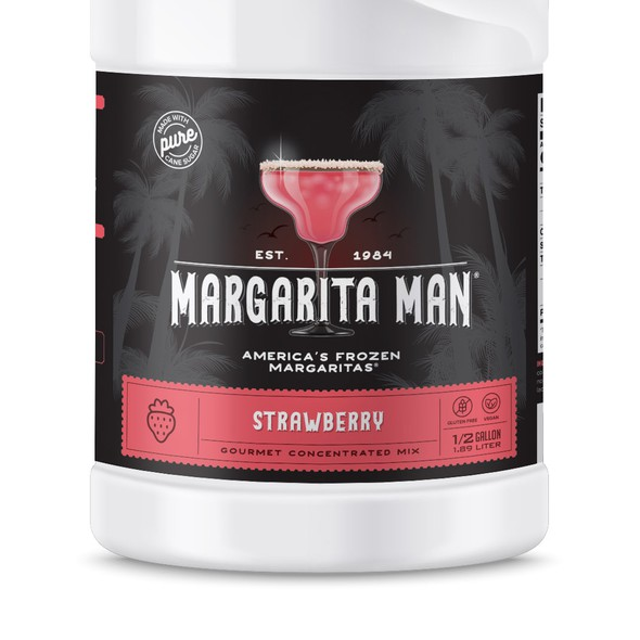 Margarita design with the title 'Label for Margarita Concentrated Mix'
