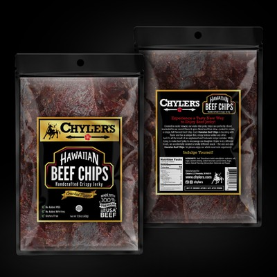 Chylers - Hawaiian beef chips