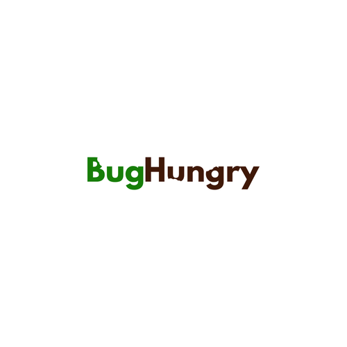 Bug logo with the title 'Fun Logo Design for Bug Snack Company'