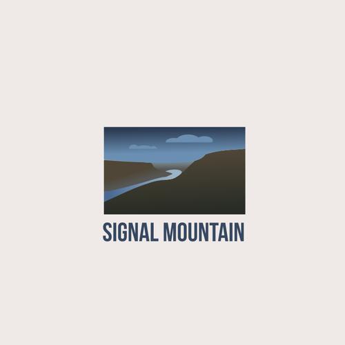 Mountain logo with the title 'Signal Mountain'