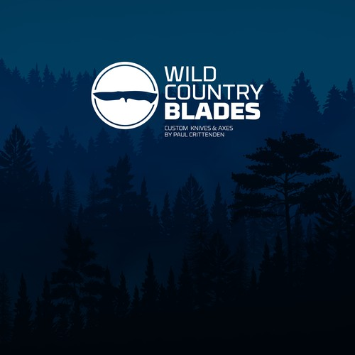 Climbing design with the title 'Wild Country Blades Logo '