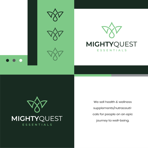 Supplement logo with the title 'MightyQuest'