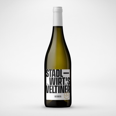 Stadlwirt's Veltiner Wine Label