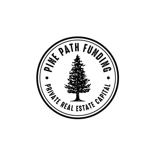 Fir tree logo with the title 'Pine Path Funding'