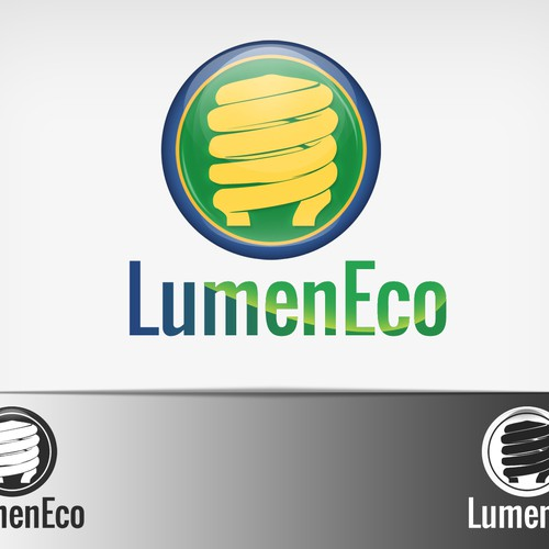 Savings logo with the title 'Help LumenEco with a new logo'