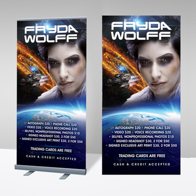 Sci-Fi Trade Show Banner