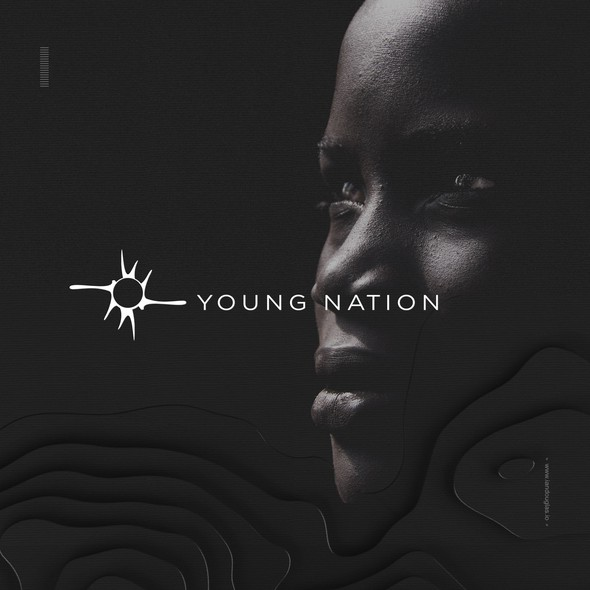 Strategic design with the title 'Creation mark for Young Nation'