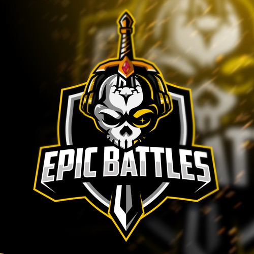 Barbarian logo with the title 'Epic Battles'