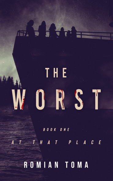 """Girl book cover with the title 'book cover """"The Worst""""'"""