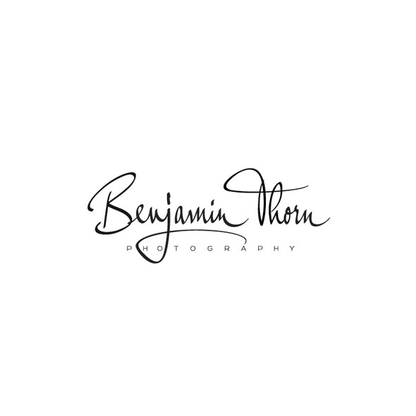Handwritten logo with the title 'Benjamin Thorn Photography'