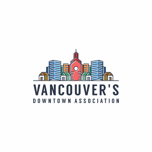 Association logo with the title 'Vancouver's Downtown Association'
