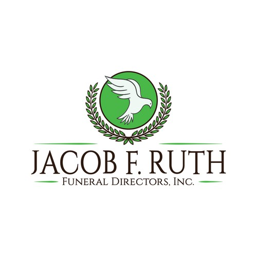Funeral logo with the title 'Jacob F. Ruth Funeral Directors, Inc.'