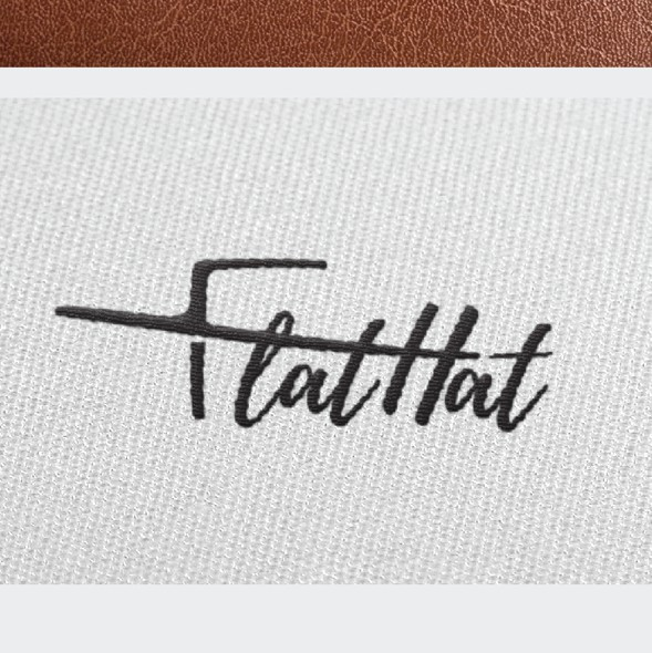 Hat design with the title 'playful logo for fashion brand'