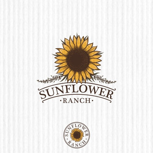 Sunflower logo with the title 'Sunflower Ranch'