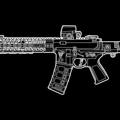 tactical AR - 15