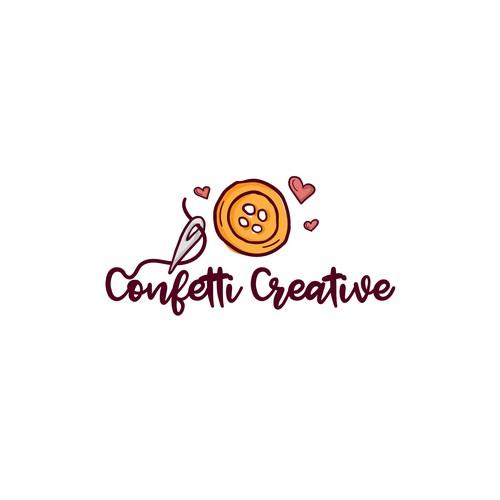 Confetti logo with the title 'Confetti Creative'