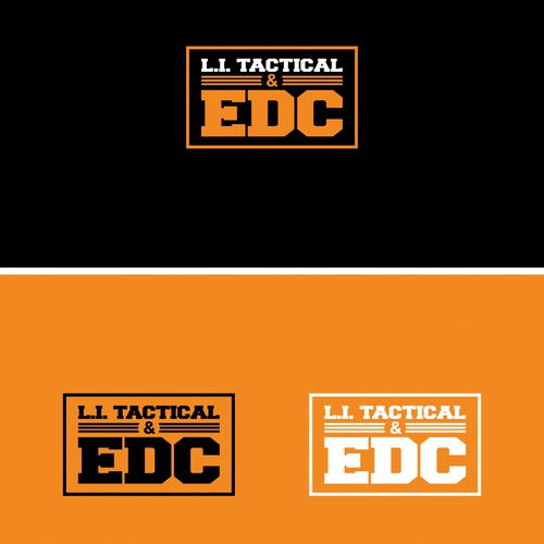 Orange and black logo with the title 'L.I. Tactical & EDC'