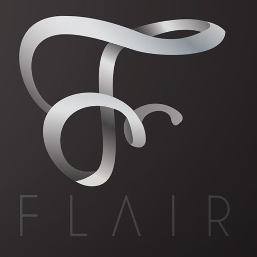 Flowing logo with the title 'Fashion hip boutique'